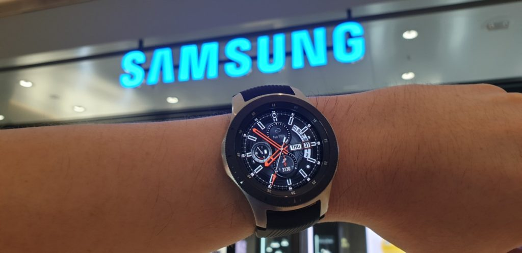 [Review] Samsung Galaxy Watch - Making Time 15