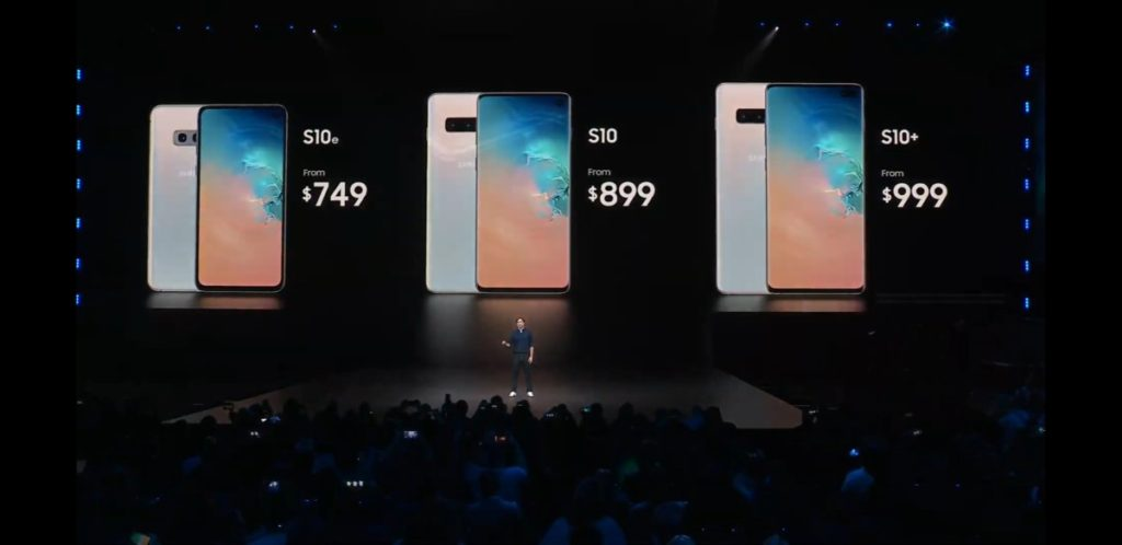 Galaxy S10 series phones revealed at Unpacked 2019 with Infinity-O displays, wireless Powershare charging and more 15