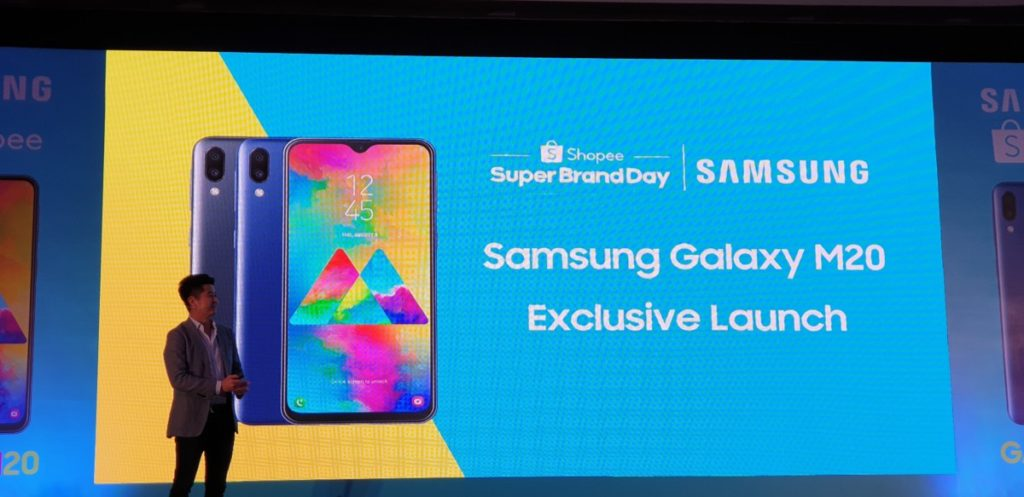 Samsung Galaxy M20 with massive 5,000mAh battery launched exclusively on Shopee 4