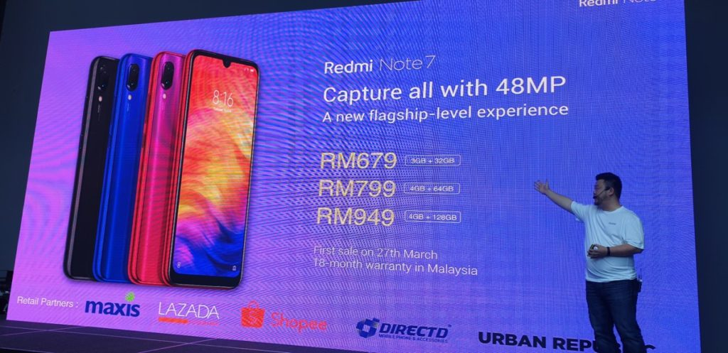 Xiaomi debuts Redmi Note 7 and Redmi 7in Malaysia with host of ecosystem devices 6