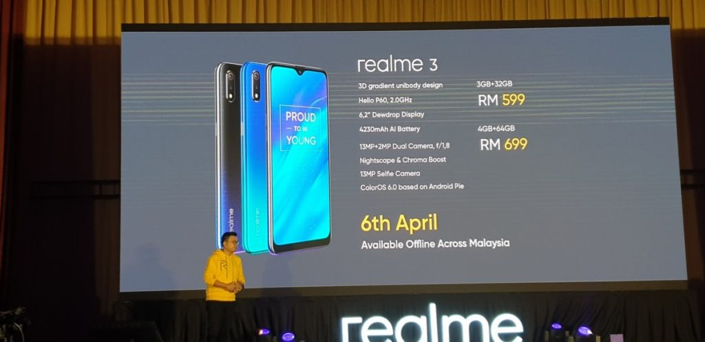 Realme 3 launched in Malaysia for RM599 7