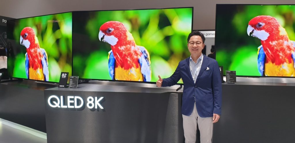 Samsung SEAO Forum 2019 showcases their latest 8K QLED TVs and home technologies 7