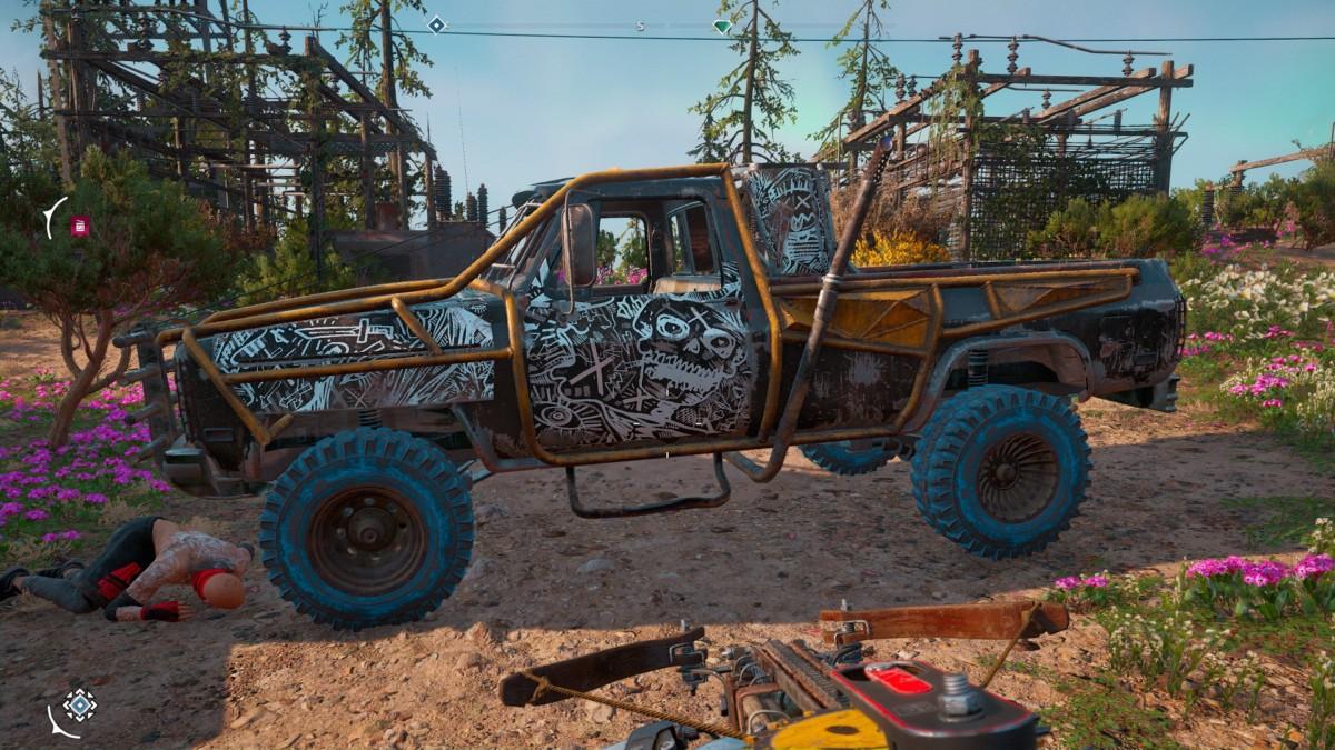 Far Cry New Dawn car