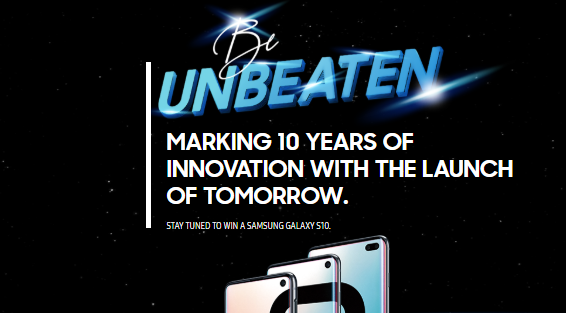 Samsung Malaysia launches the Galaxy S10 into space 2