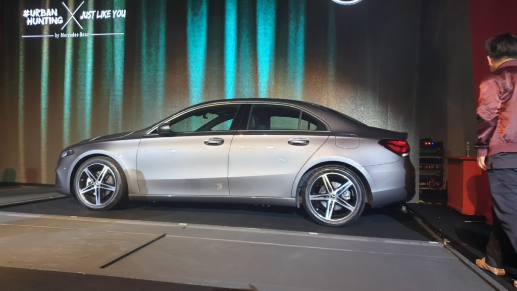 New Mercedes-Benz A-Class limousine arrives in Malaysia with MBUX infotainment system 3