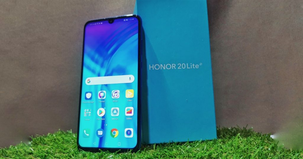First look at the triple-camera packing HONOR 20 Lite 3
