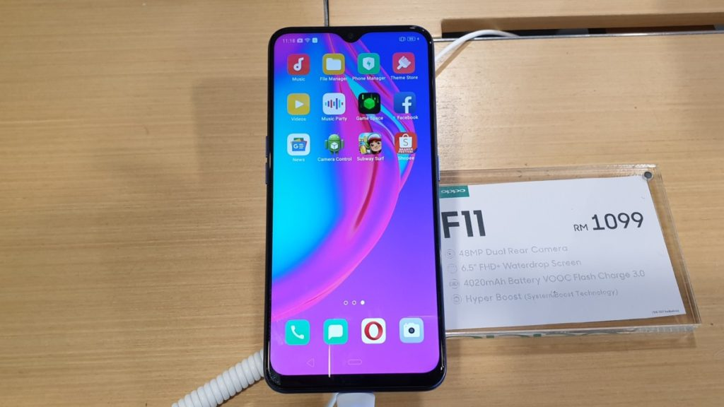 OPPO F11 debuts as a Shopee exclusive for RM1,099 2