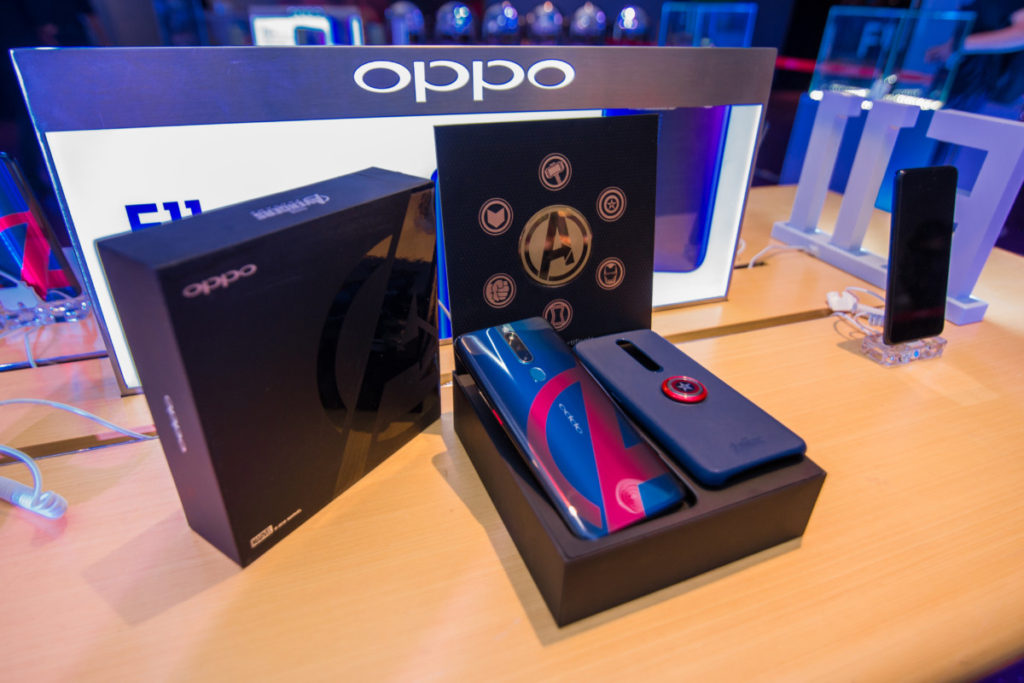 The OPPO F11 Pro Marvel's Avengers Limited Edition phone is yours for RM1,399 1