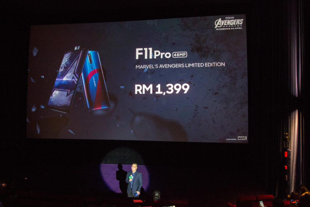 The OPPO F11 Pro Marvel's Avengers Limited Edition phone is yours for RM1,399 4