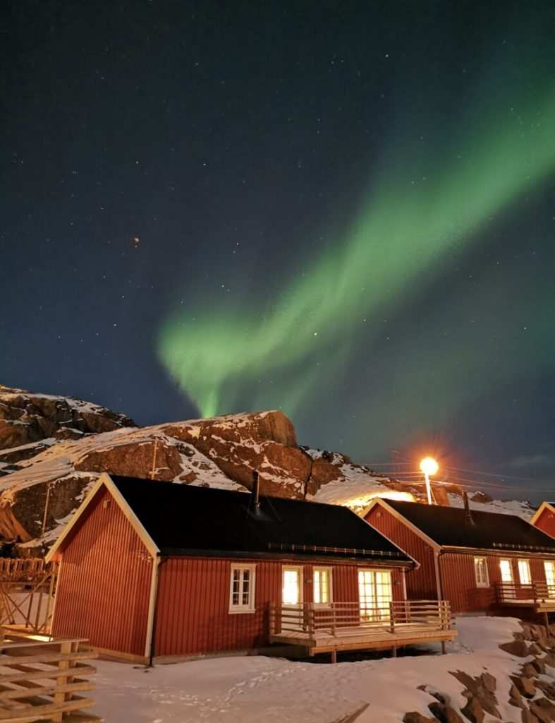 With a long exposure and the P30 series super Night mode, users can take fantastic shots after dusk of the aurora borealis