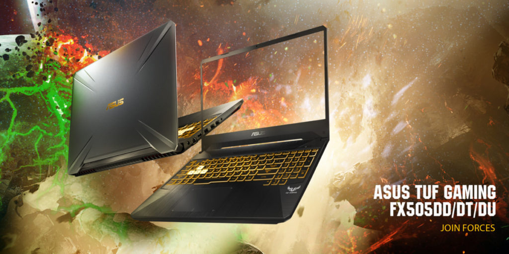 Asus TUF Gaming FX505 and FX705 to come with latest AMD CPUs and NVIDIA GeForce graphics 1