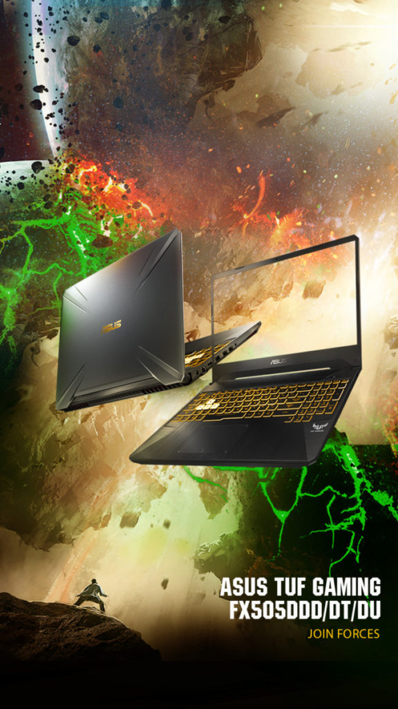Asus TUF Gaming FX505 and FX705 to come with latest AMD CPUs and NVIDIA GeForce graphics 3