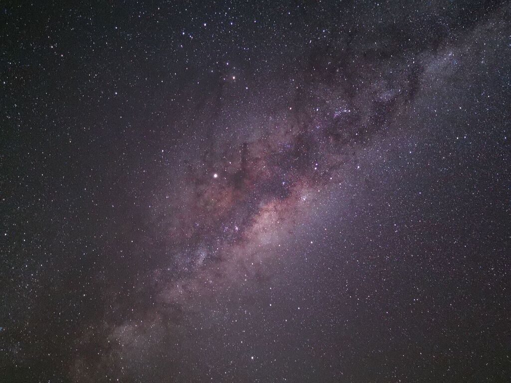 To take this sweet looking night shot of the Milky Way, you'll need to use a tripod with the P30 Pro, set the ISO to 1600 and use a 30-second exposure.