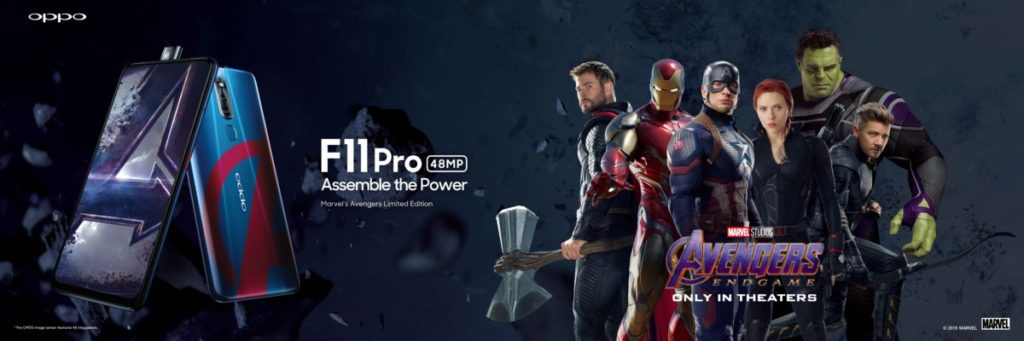 Avengers Assemble with the Marvel's Avengers Limited Edition OPPO F11 Pro 8