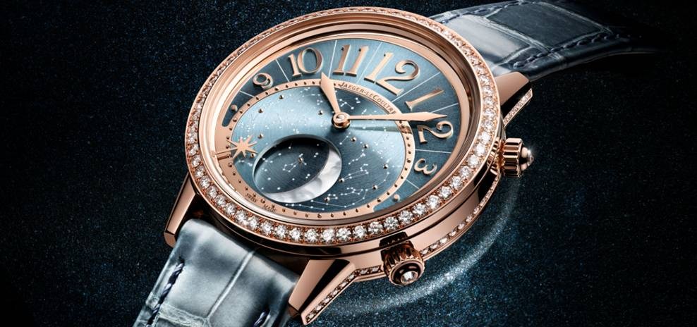 Time for a rendezvous with Jaeger LeCoultre Rendez-Vous Moon Serenity 5