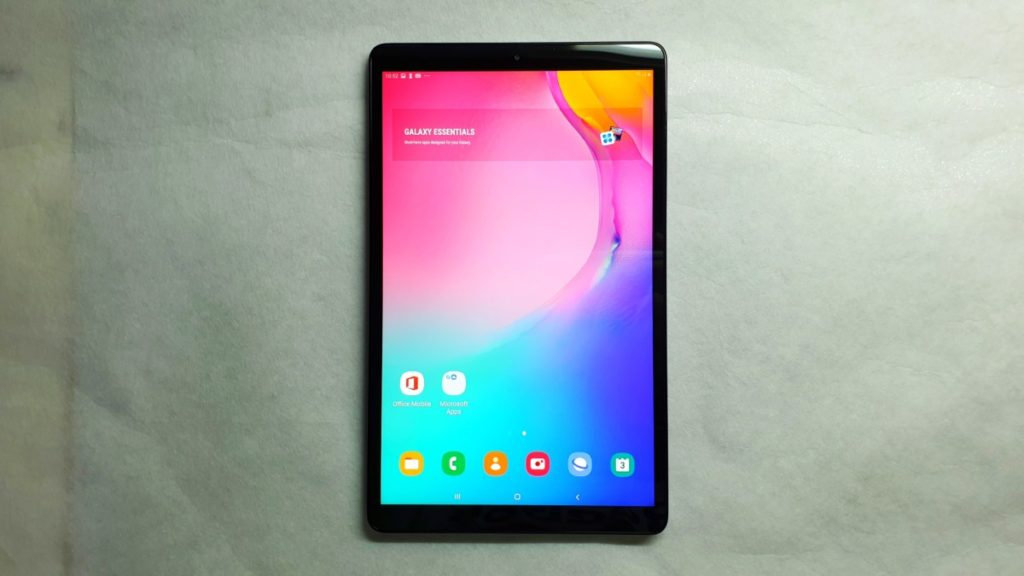 [Review] Galaxy Tab A 10.1 2019 - Slick Entertainment Slate 1