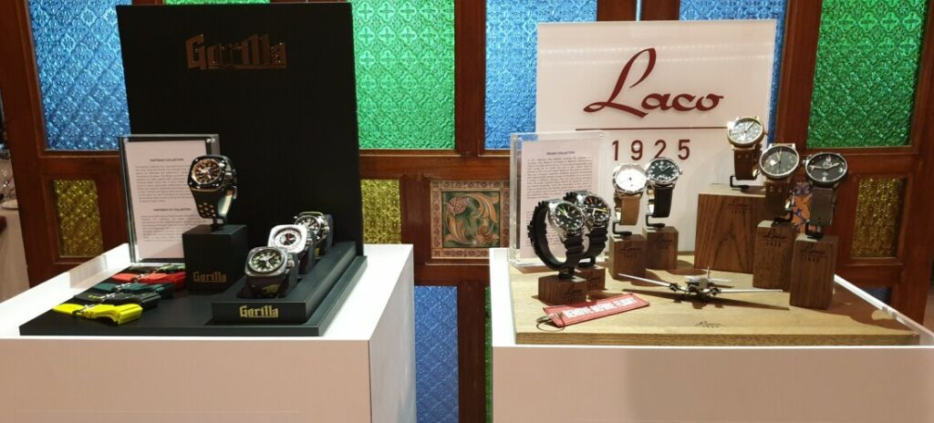 Red Army Watches reveals latest Laco and Gorilla collection timepieces in Malaysia 2