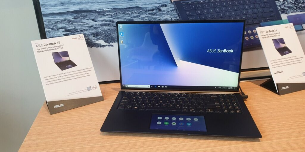 Asus ZenBook 13, 14 and 15 with ScreenPad secondary displays announced at Computex 2019 4