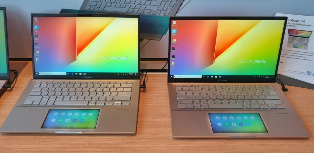 Asus debuts new VivoBook S14 and S15 with ScreenPad 2.0 touchpads 2