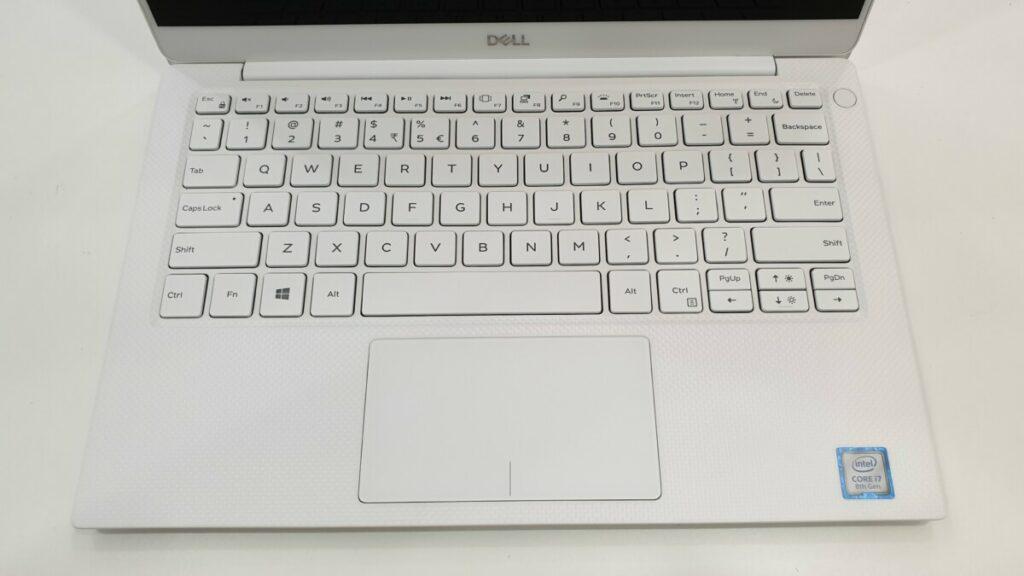 Dell XPS 13 9380 keyboard