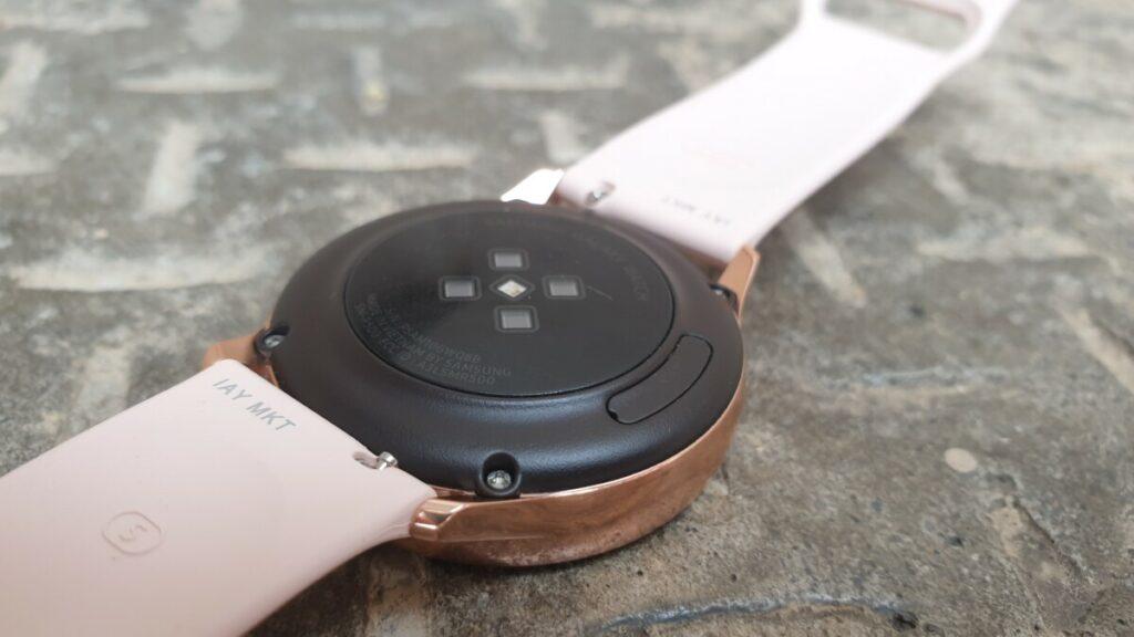 Galaxy Watch Active heart rate sensor
