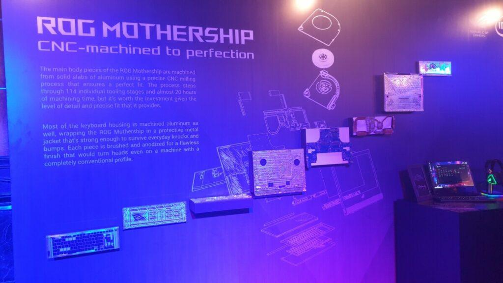 ROG Mothership parts
