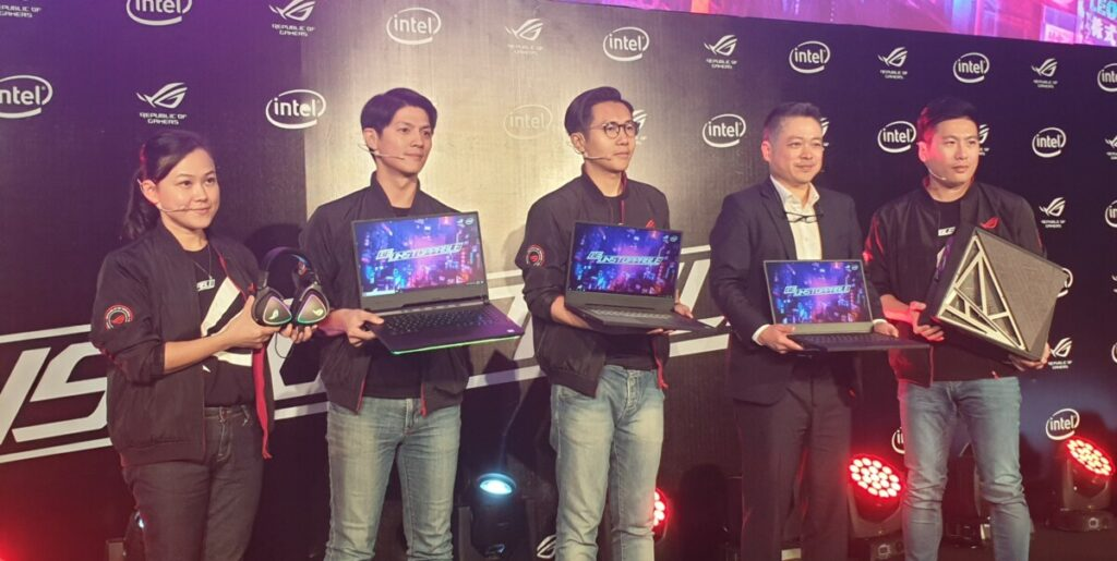 ASUS ROG Be Unstoppable campaign debuts Strix & Zephyrus gaming notebooks in Glacier Blue and Huracan G21 3