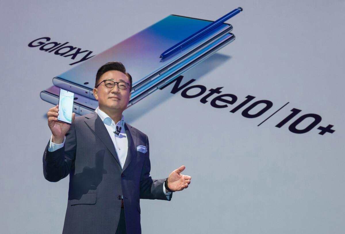 Galaxy Note 10 DJ Koh Unpacked