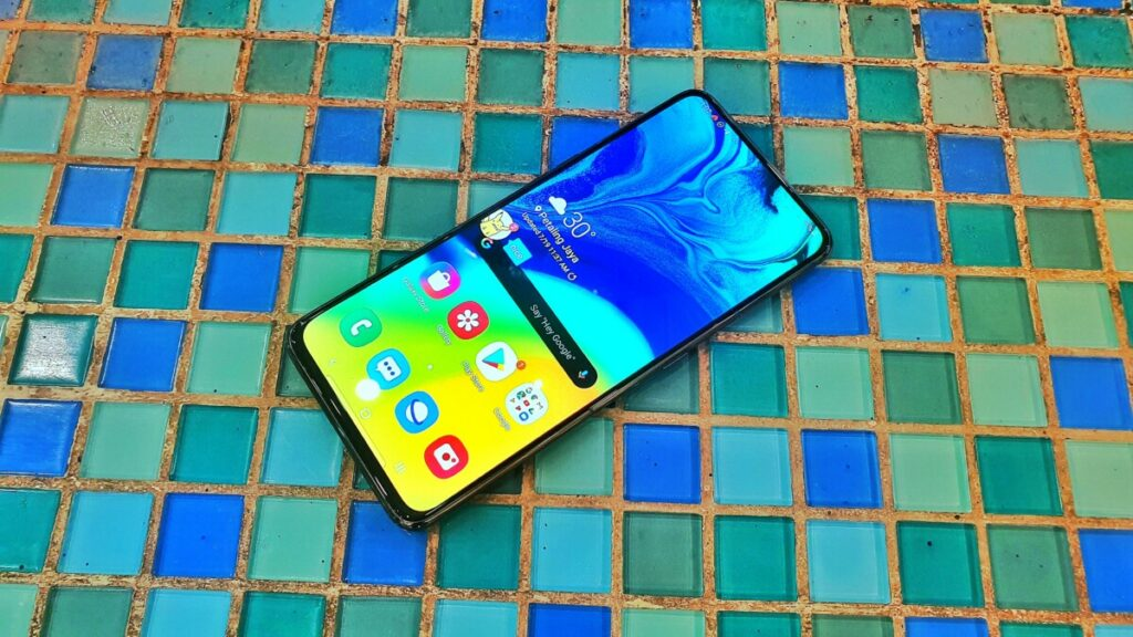 Galaxy A80 front