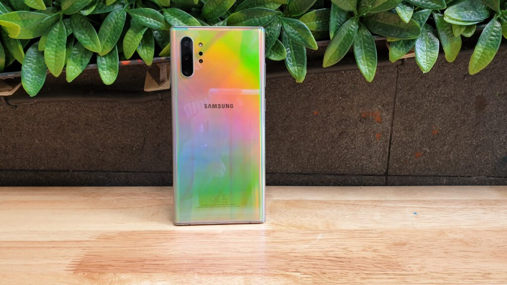 Galaxy Note10+ mirrored backplate