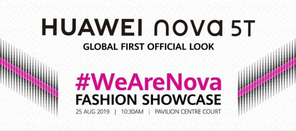 Huawei nova 5T KLFW official