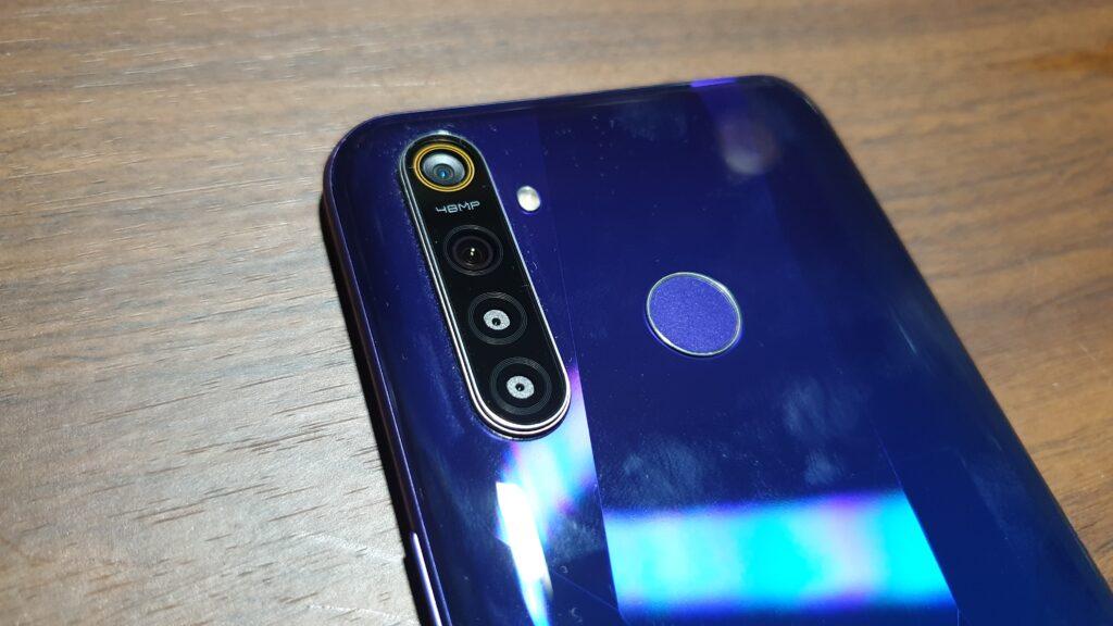 realme 5 Pro rear cameras