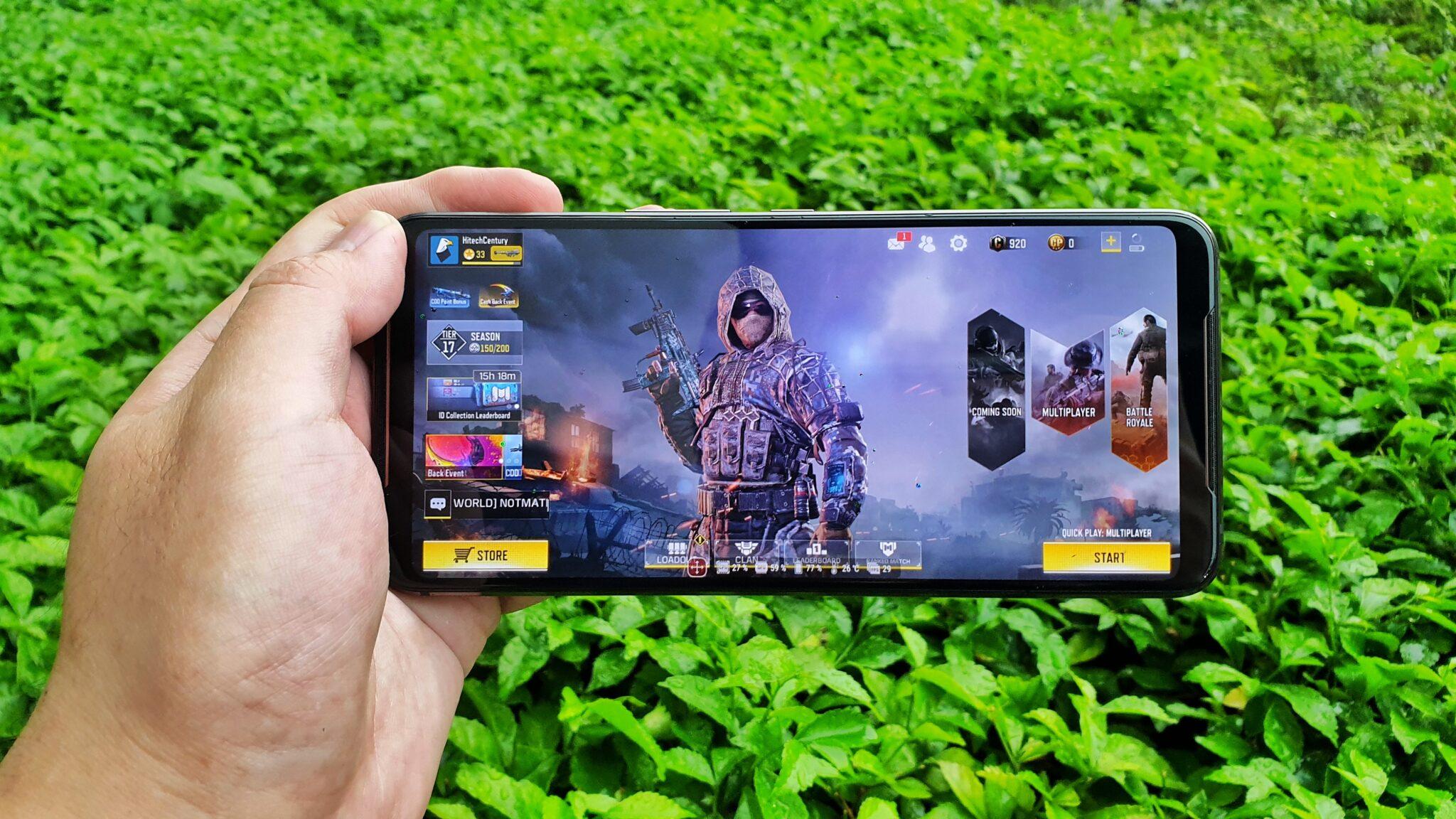 ROG Phone 2 gameplay
