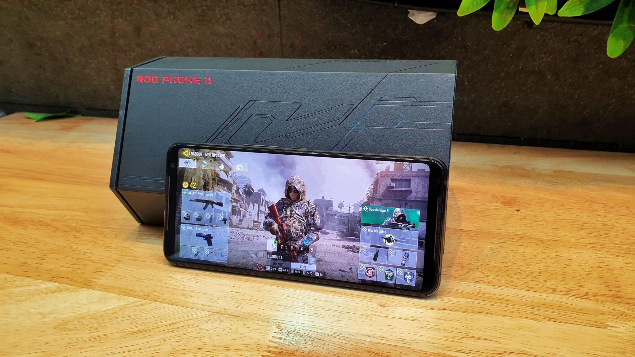 ROG Phone 2 gaming