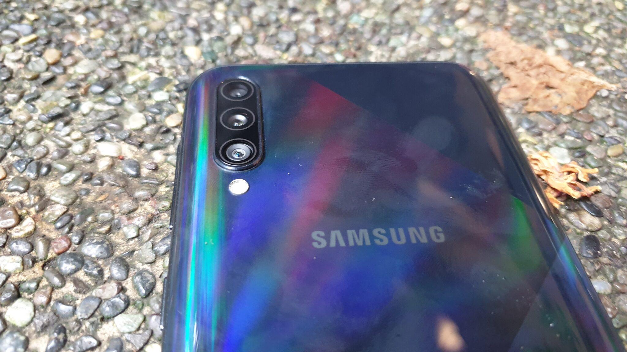 Galaxy A50s rear camera array