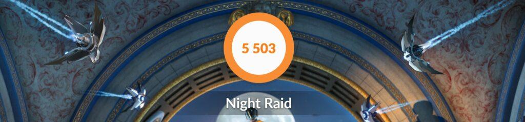 XPS 13 3D Mark Night Raid