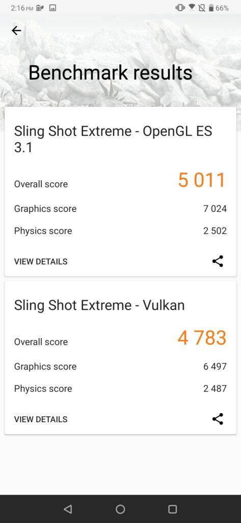 ROG Phone 2 3DMark performance off