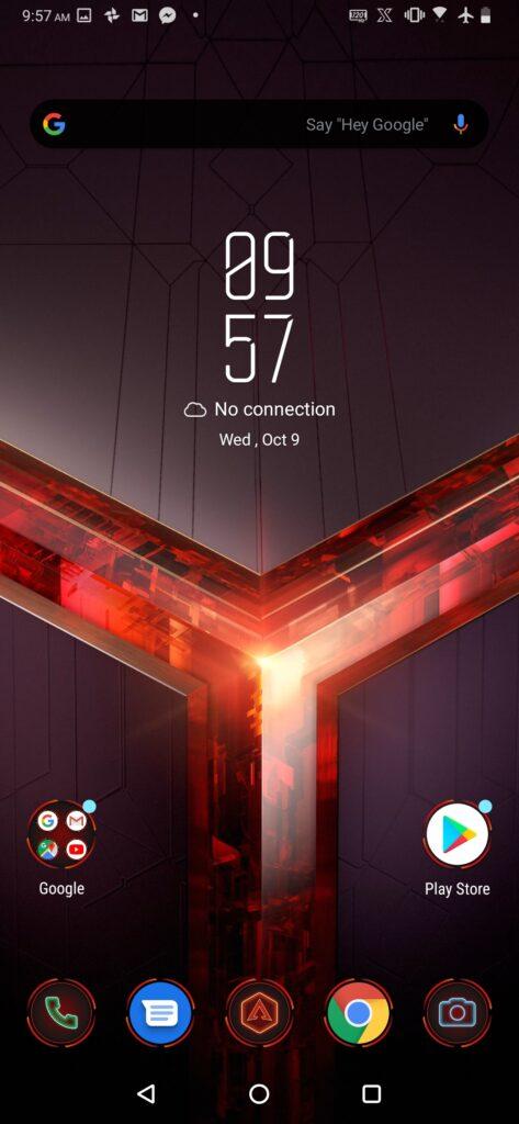 ROG Phone performance mode on