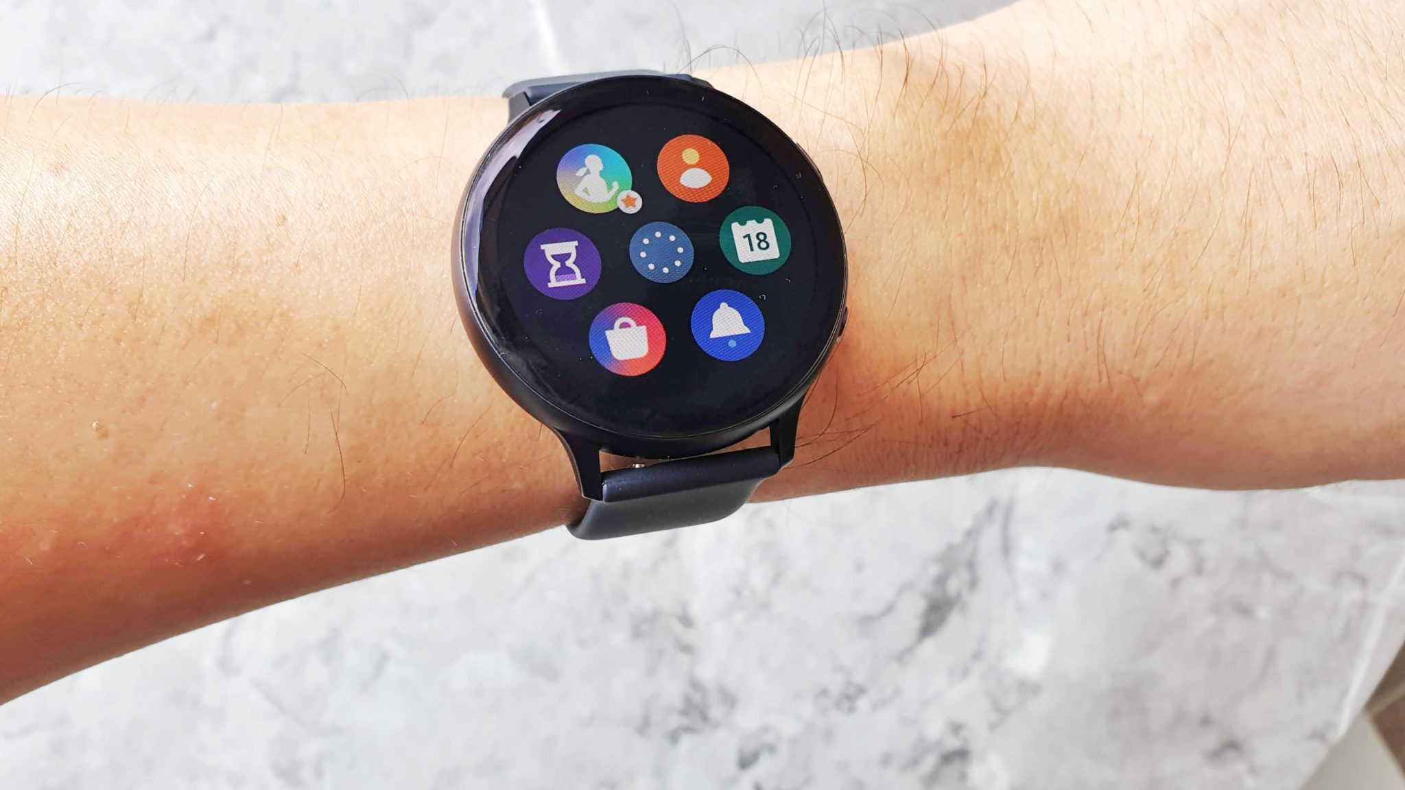 Watch Active2 apps