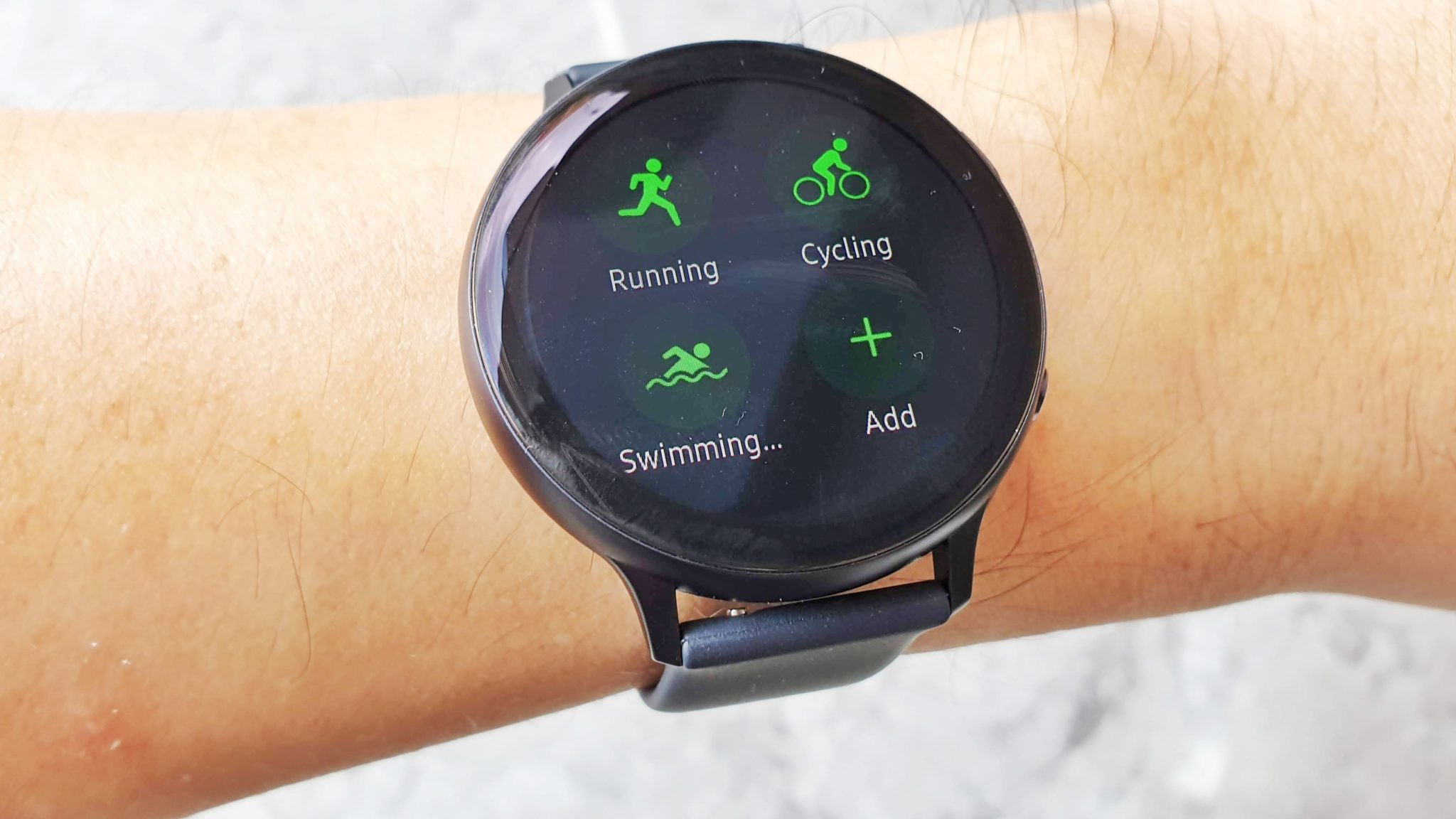 Watch Active2 exercises