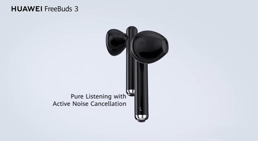 Huawei Smart Life Freebuds 3 earbud design
