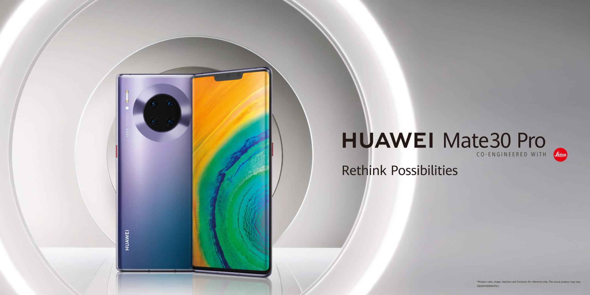 Huawei Mate30 Pro for Huawei Smart Life Ecosystem