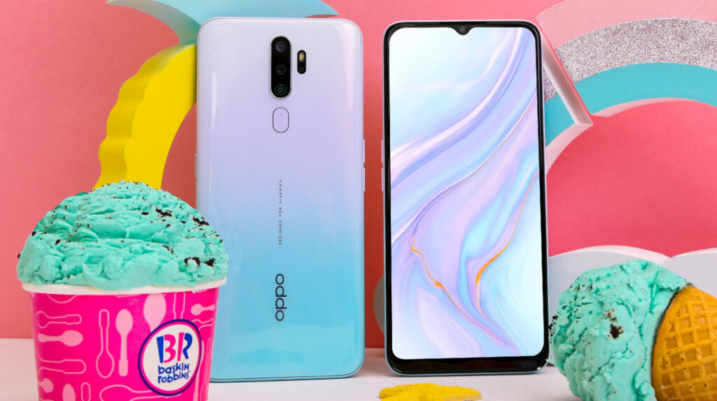 Sweet looking OPPO A9 2020 Vanilla Mint up for preorders with delicious surprise 1