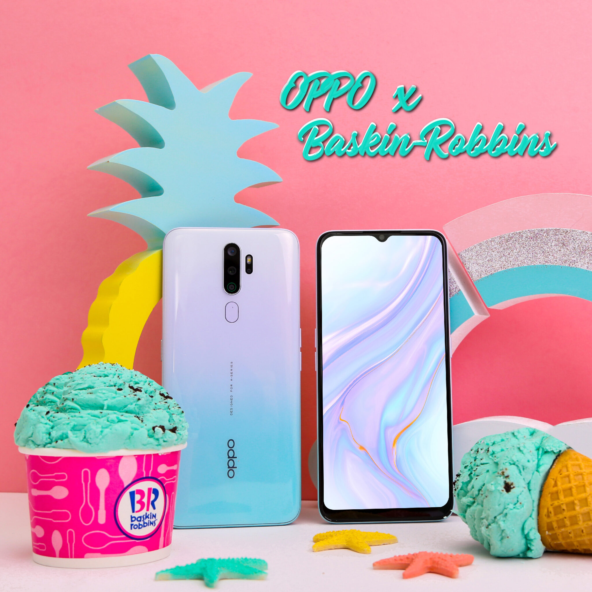 Sweet looking OPPO A9 2020 Vanilla Mint up for preorders with delicious surprise 2