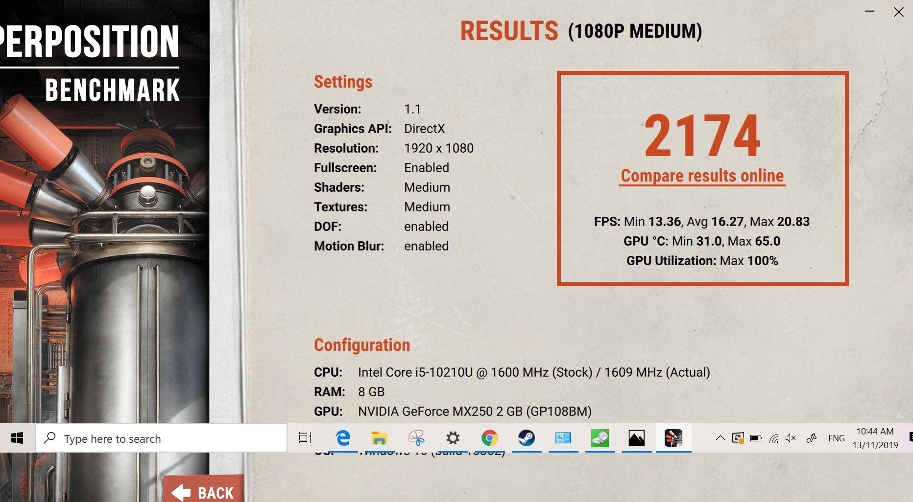 ZenBook Duo UX481F Superposition