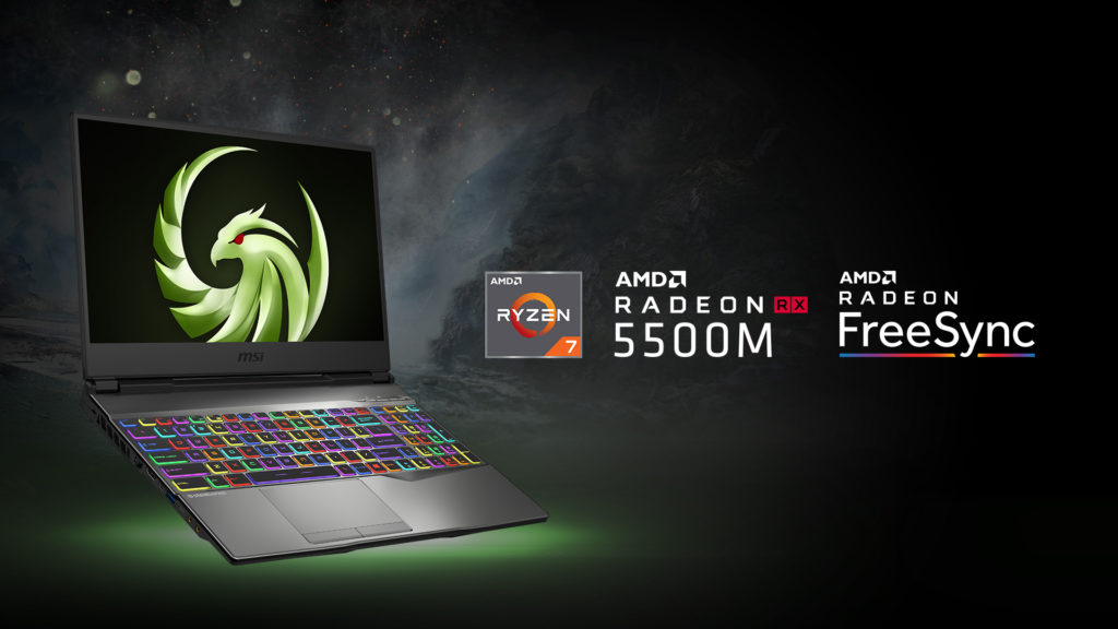 MSI Alpha 15 with AMD Radeon RX RX5500M graphics for RM4,799 1