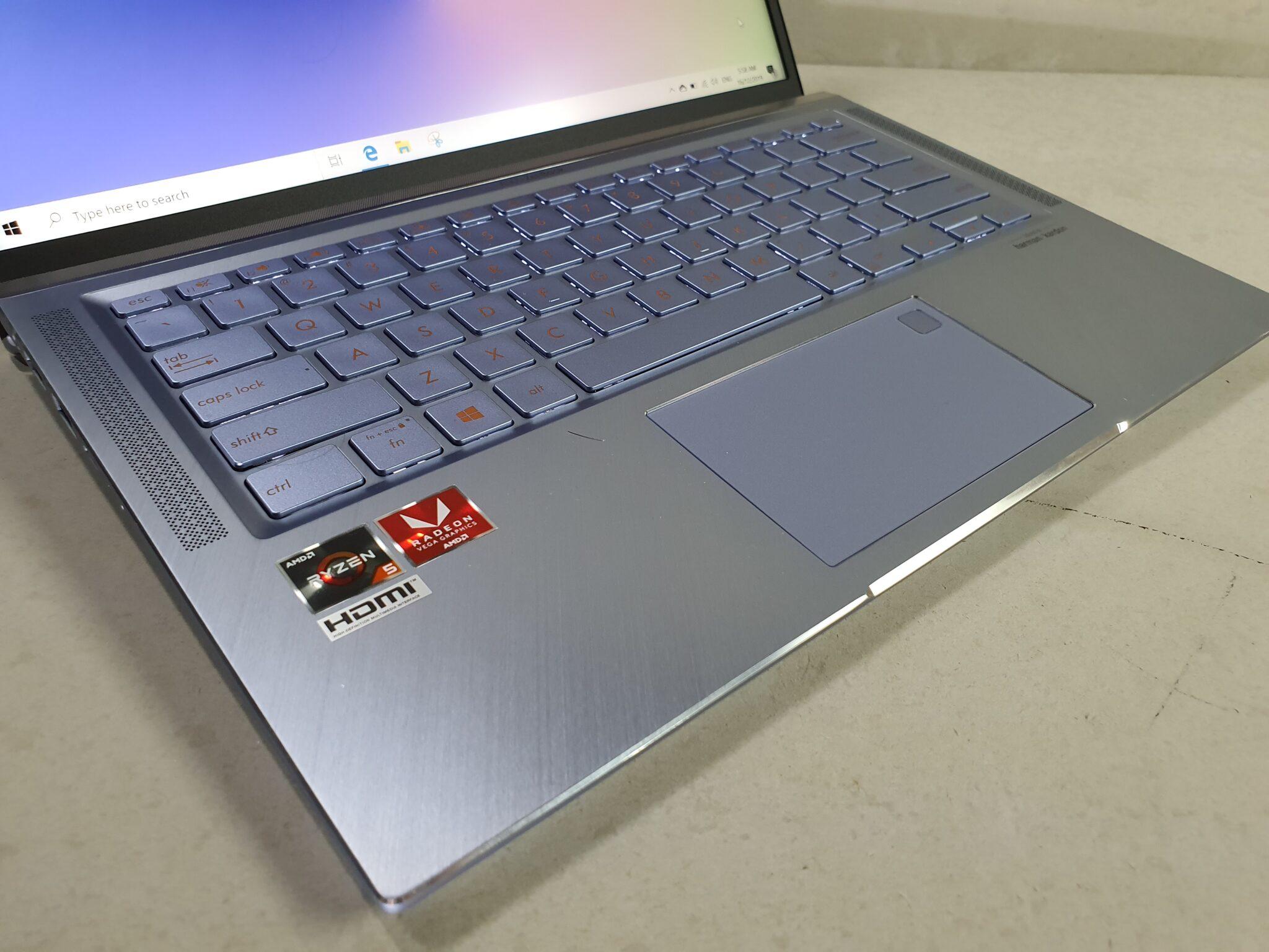 Asus zenbook 14 um431 angled
