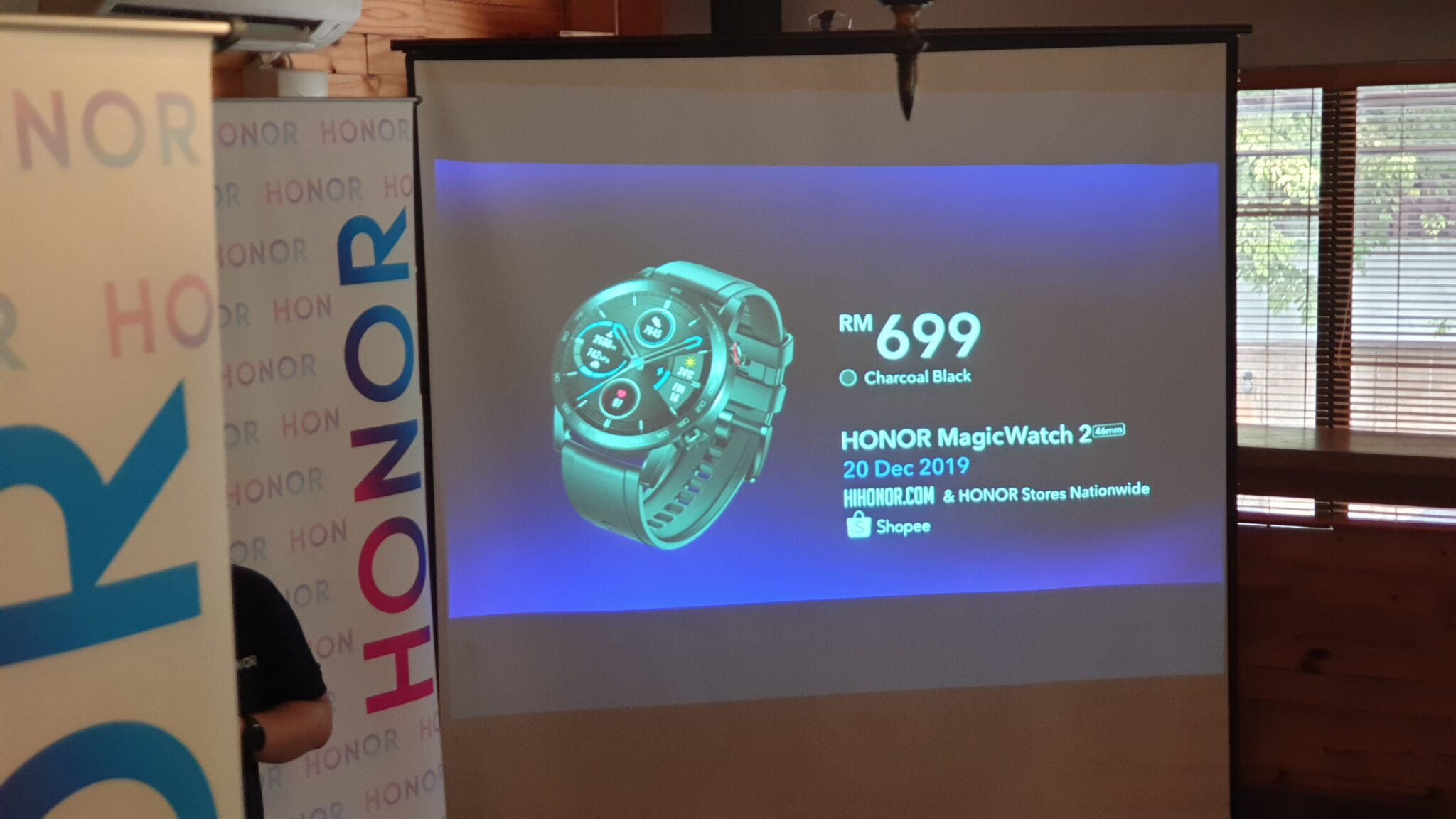 HONOR Magicwatch 2 black