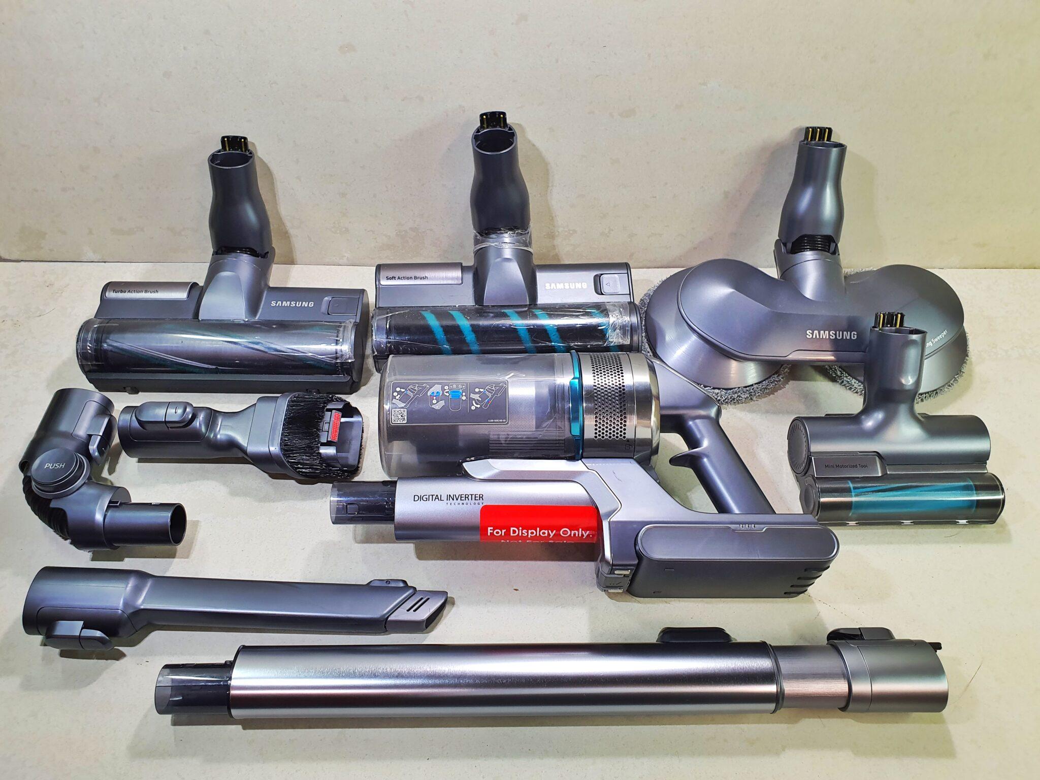 POWERstick Jet attachments all