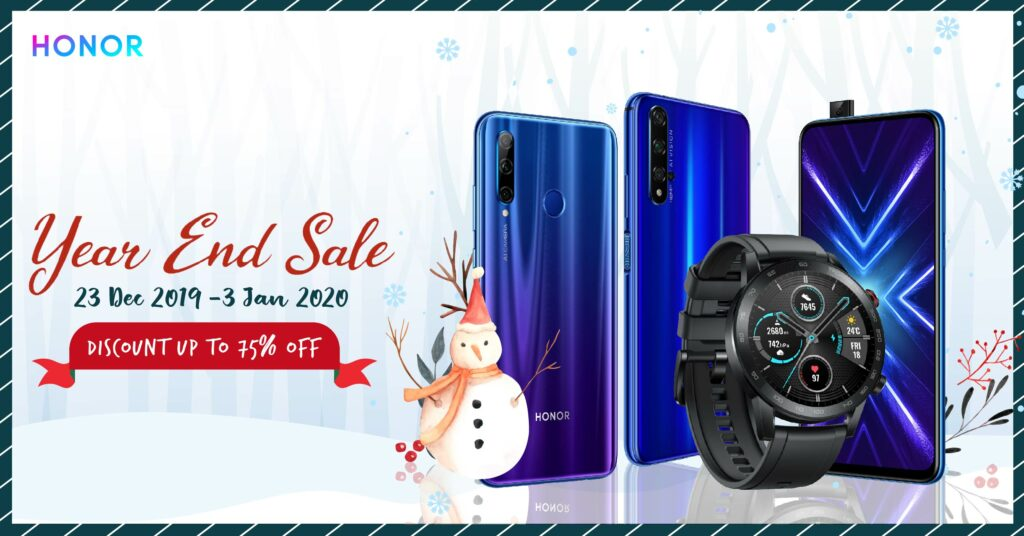 HONOR 20 going for just RM1,199 and more in crazy year end sale 1